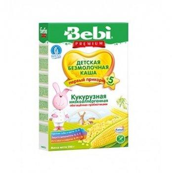 Каша кукурузная Kolinska Bebi PREMIUM, низкоаллергенная, с пребиотиками 200 г
