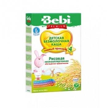 Каша рисовая Kolinska Bebi PREMIUM, низкоаллергенная, с пребиотиками 200 г