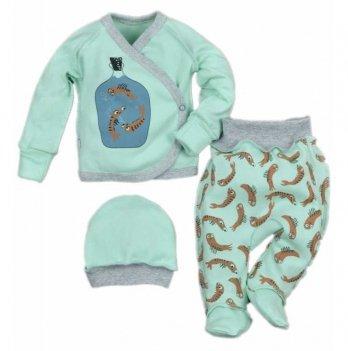 Комплект для новорожденного Sweet Mario Ментоловый 10-07-7