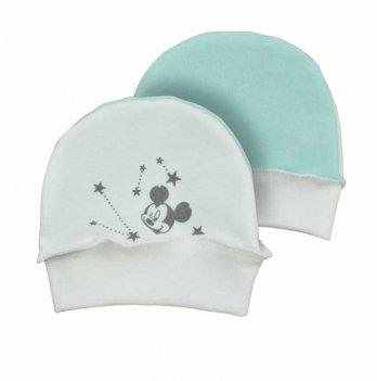 Шапочка для новорожденного Sweet Mario Молочный/Зеленый 18-00-85