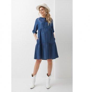 Платье для беременных и кормящих Dianora Синий 2008 1304