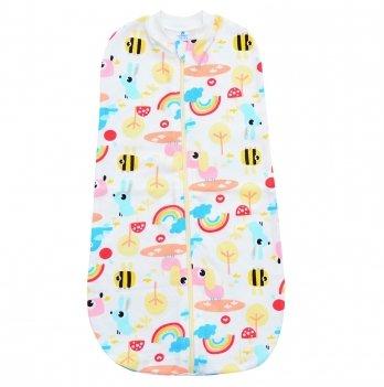 Пеленка кокон на молнии Minikin I Like 0-9 месяцев Пчелка 2010003