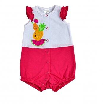 Песочник для девочки Garden baby Малиновый 20103-03
