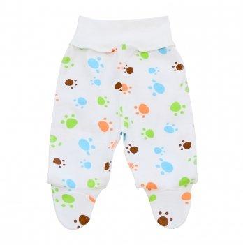 Ползунки для новорожденных Minikin I Like 0-3 месяца Белый 2010303