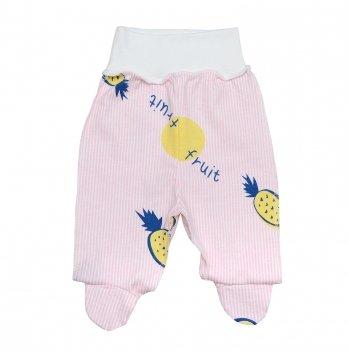 Ползунки для новорожденных Minikin I Like 0-3 месяца Розовый 2010303