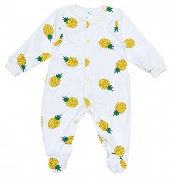 Человечек детский Minikin I Like 3-9 месяцев Молочный/Желтый 2010703