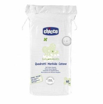 Салфетки-полотенечко хлопковые Chicco 60 шт.