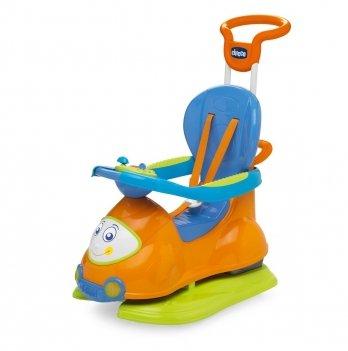 Автомобиль-качалка Quattro 4 в 1 Chicco 60703.00 оранжевый
