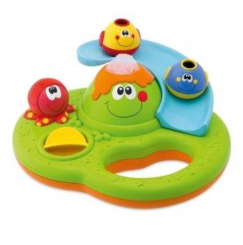 Игрушка для ванной Остров мыльных пузырей Chicco 70106.00