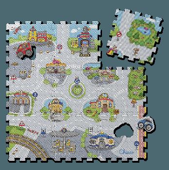 Коврик - мозаика Город Chicco 07163.00
