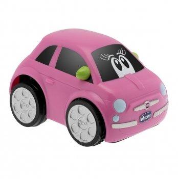 Машинка инерционная Chicco Fiat 500 Turbo Touch 07331.10 розовый