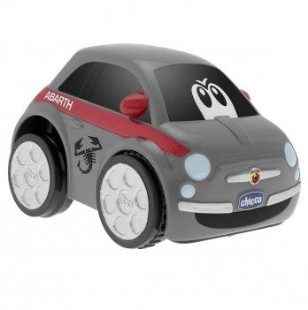 Машинка инерционная Chicco Fiat 500 Turbo Touch 07331.00 серый