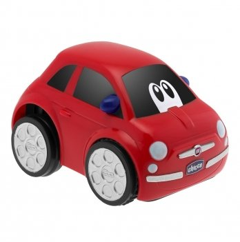 Машинка инерционная Chicco Fiat 500 Turbo Touch 07331.07 красный
