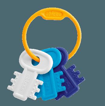 Игрушка-грызун Мягкие ключики Chicco 63216.20 голубой