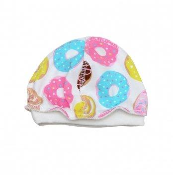 Шапочка для новорожденного Minikin I Like 0-3 месяца Розовый/Желтый 2015303