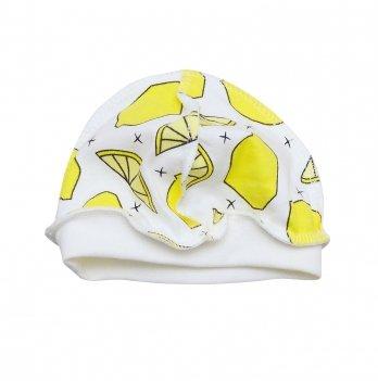 Шапочка для новорожденного Minikin I Like 0-3 месяца Желтый 2015303