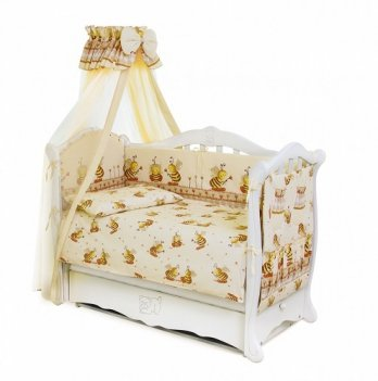Детская постель Twins Standart Пчелки С-031 бежевый