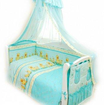 Детская постель Twins Standart  Утята С-025 голубой