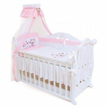 Детская постель Twins Evolution 4 элемента Лето /апликация A-017 розовый