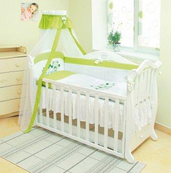 Детская постель Twins Evolution 4 элемента Лето /апликация A-018 салатовый