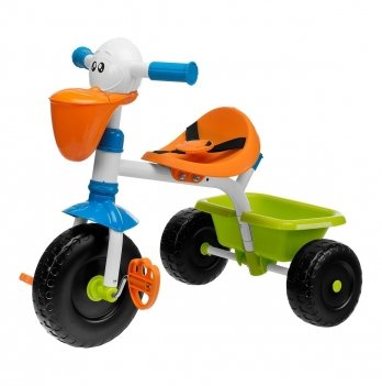 Велосипед трехколесный Chicco, Pelikan Trike, с телескопической ручкой
