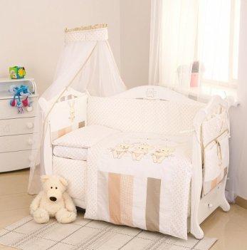 Детская постель Twins Dolce Друзья зайчики D-001 бежевый