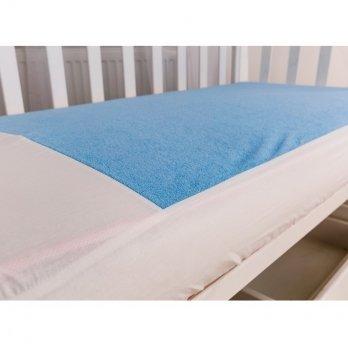 Наматрасник на резинке Twins Голубой 120х60 см