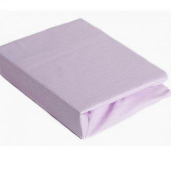 Простынь на резинке Twins хлопок Фиолетовый 6000.11 120х60 см