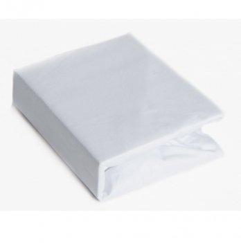 Простынь на резинке Twins хлопок Белый 6000.01 120х60 см
