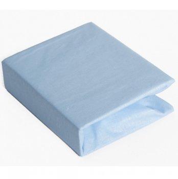 Простынь на резинке Twins хлопок Голубой 6000.04 120х60 см