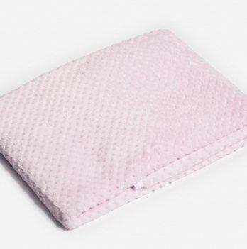 Плед Twins жакард, 80 х 104 см, pink