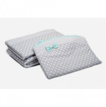 Бампер в кроватку Twins Premium Glamur, P-004