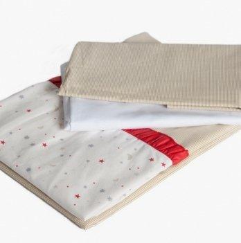 Сменный комплект в кроватку Twins Premium Starlet, P-021