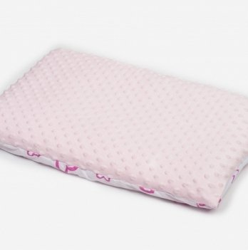 Подушка в кроватку Twins Minky 40 х 60 см, pink