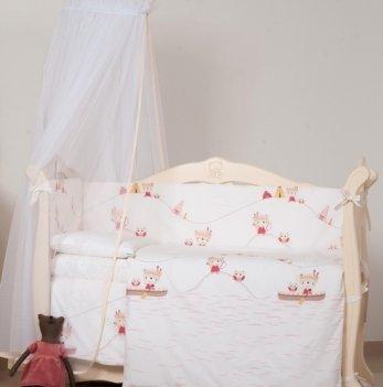 Детская постель Twins Eco Line Indian summer, 6 эл., E-013, красный