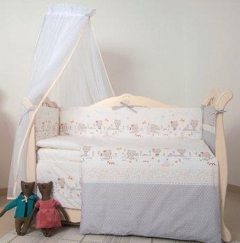 Детская постель Twins Eco Line Nice day, 6 эл., E-017