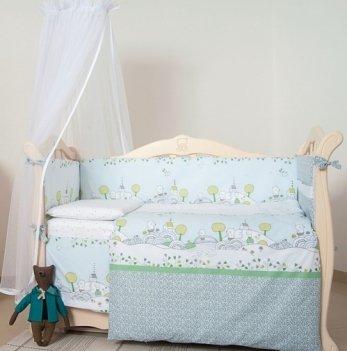 Детская постель Twins Eco Line Village, 6 эл., E-010
