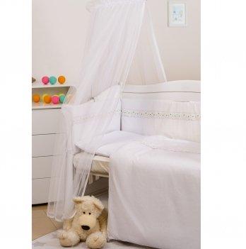 Балдахин для кроватки Twins Eco Line универсальный Белый