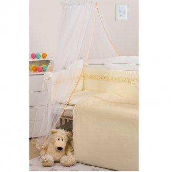 Балдахин для кроватки Twins Eco Line универсальный Бежевый