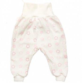 Евроползунки с открытыми ножками для девочки интерлок Модный карапуз My little star