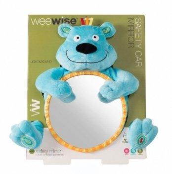 Игрушка детское зеркальце в автомобиль, WeeWise «Медвежонок»