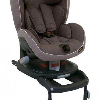 Детское автокресло BeSafe iZi Comfort X3 ISOfix група I, 9-18 кг, цвет Metallic Melange, серый