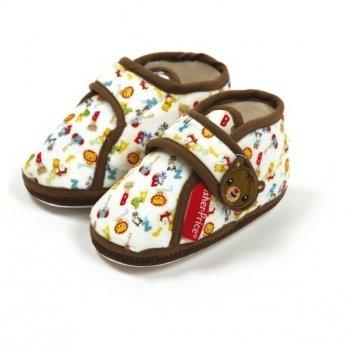 Тапочки со стопером Arditex  Fisher-Price, коричневые