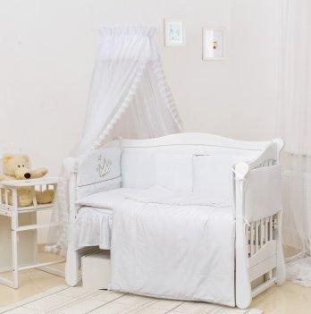 Комплект постельного белья Twins Romantic Vintage Baby R-004 Белый 7 предметов