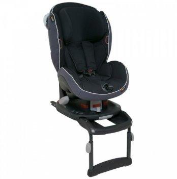 Детское автокресло BeSafe iZi Comfort X3 ISOfix група I, 9-18 кг, цвет Midnight Black Melange, черный