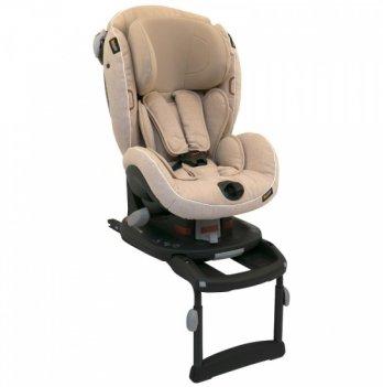 Детское автокресло BeSafe iZi Comfort X3 ISOfix група I, 9-18 кг, цвет Ivory Melange, бежевый