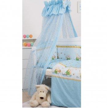 Балдахин для кроватки Twins Comfort Медуны C-111 Голубой