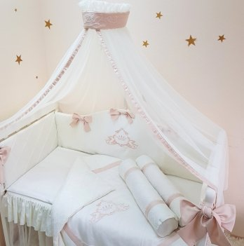 Комплект Маленькая Соня Mon belle L'collection, 7 предметов, молочный