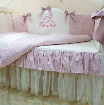 Комплект Маленькая Соня Mon belle L'collection, 6 предметов, цвет пыльная роза