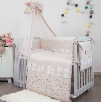Комплект постельного белья Twins Sweet Umka SW-016 Розовый 8 предметов
